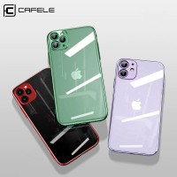 CAFELE iPhone 11 Pro iPhone 11 Pro Max - New TPU Plating Case - Hitam, iP 11