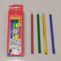 Faber-Castell Junior Triangular Pencils / Pensil TK (1 lusin)