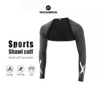 ROCKBROS XT025 Arm Sleeve Shawl Cuff Bike Run - Manset Kaos - Black