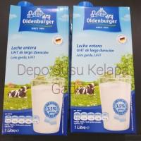 Susu Oldenburger Full Cream UHT 1L | Milk Goldenburger import Premium