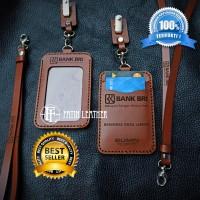 Terlaris | Name Tag Kulit | id card holder custom