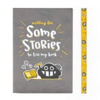 NOTEBOOK SIGNATURE DOTTED DUSTYKID EDITION : YOUR STORIES A5