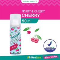 Batiste Fruity & Cheeky Cherry Dry Shampoo 50 ml