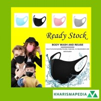 Masker Kain Fashion Mask Dapat Digunakan Kembali Lembut Antibakteri