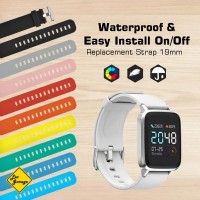 Strap Haylou Smartwatch 19mm Rubber