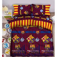 Sprei Single FATA ukuran 100 x 200 Single Club Bola - Barca