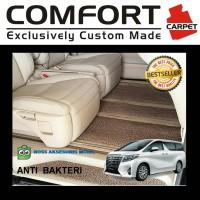 Karpet Comfort Premium Alphard Vellfire Biante Voxy Elgrand