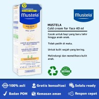 MUSTELA NOURISHING CREAM WITH COLD CREAM FOR FACE BPOM - 40 ML