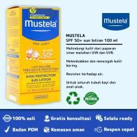 MUSTELA HIGH PROTECTION SUN LOTION SPF 50 PLUS BPOM - 100 ML