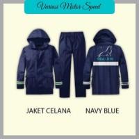 Jas Hujan Anti Bocor / Raincoat Original Sealion / B01 Jaket Celana XL