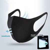 masker scuba premium import breathable, bisa cuci ulang with packaging