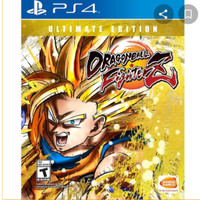 Dragon Ball Fighter Z Ultimate Edition Digital Game PS4 Full PSN