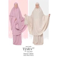 MUKENA TATUIS TIARA 377 BROWN & DUSTY PINK