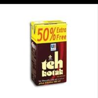 Teh kotak Ultra Jaya 200ml Extra 100ml 1karton isi 24 pcs
