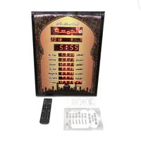 Jam Dinding Digital Adzan Jadwal Sholat Masjid Waktu Azan Bingkai 4535