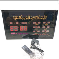Jam Adzan Digital Sholat Otomatis 6 Waktu Azan Dinding Masjid 4622-Y2