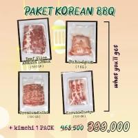 Paket Korean BBQ (Ramadhan Promo)