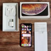 IPHONE Xs Max 512 gb Mulus Fullset Original Bergaransi Gosend ready