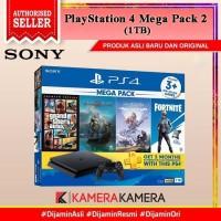 PS4 MEGA PACK 2 SONY PLAYSTATION 4 SLIM BUNDLE MEGAPACK 1TB