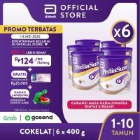 Pediasure Coklat 400g (1-10 tahun) Susu Formula Pertumbuhan - 6 klg