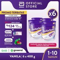 Pediasure Vanila 400g (1-10 tahun) Susu Formula Pertumbuhan - 6 klg