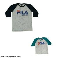 754.Atasan Kaos Fashion Ayah Dan Anak