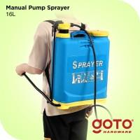 Pompa Manual Pump Sprayer 16 L Alat Semprot Hama Virus Disinfektan