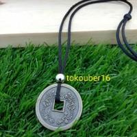 kalung koin China 123/ kalung cowo / kalung tali / kalung pria
