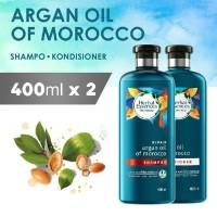 Bundle Shampoo + Conditioner Herbal Essences Argan Oil of Morocco 400m