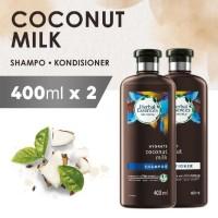Bundle Shampoo + Conditioner Herbal Essences Coconut Milk 400ml