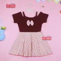 Dress Agata uk 1-3 tahun / Dres Pesta Anak Perempuan Gaun Sabrina