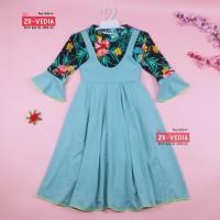 Gamis Aisyah uk 3-7 Tahun [EXPORT] Baju Anak Perempuan Overall Dres