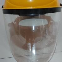 Safety Pelindung wajah Face shield Kuning