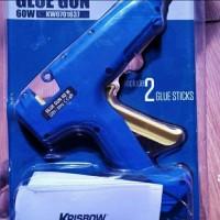 Lem tembak merk KRISBOW 60 watt-Hot melt glue gun KW0701637