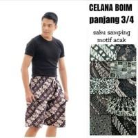 celana pendek murah boim batik / celana boim grosiran / celana murah