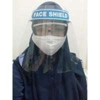Face shield masker mika medis transparan pelindung safety mask
