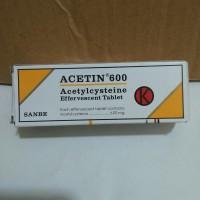 Acetin 600 mg effervescent.
