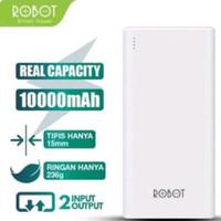 Robot Power Bank RT-170 10000mAh 2 Port USB Garansi 1 Tahun