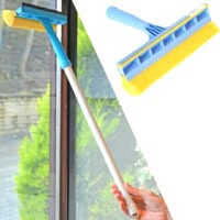 Pembersih Kaca Wiper dan Busa NAGATA 346S /Window Squeegee with Sponge