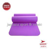 SPEEDS Matras Yoga FREE TAS NBR 10 MM Karpet yoga mat Senam Mat 027-