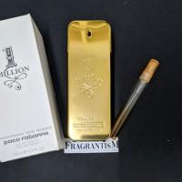 Decant 10ml Parfum Paco R.abanne One Million / 1 Million Men EDT