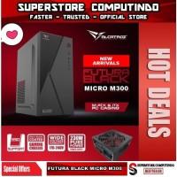 Alcatroz Futura Black Micro M300 With PSU 450W - Best Buy Micro Case