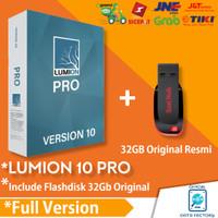 Lumion 10 Pro Full Version ( 64Bit ) + FlashDisk 32GB Original