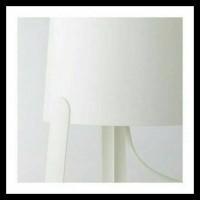 Cuci Gudang Tvars Ikea Lampu Meja Tidur Putih