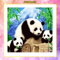 Selimut Rosanna Sutra uk 150x200 motif Panda