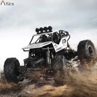 16 Mainan RC Mobil Off-Road 4WD Skala 1: