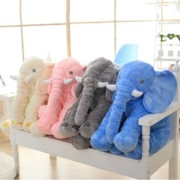 Mainan Gajah ??Bantal Boneka Binatang Anak Kecil Bayi Bantal Lembut