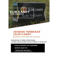 SLIM CANDY PAKET PREMIUM (8-15kg/minggu)