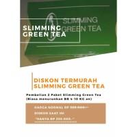 SLIMMING GREEN TEA PAKET BRONZE (4-10kg/minggu)