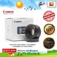 Canon EF 50mm f/1.8 STM - Lensa Fix Bokeh